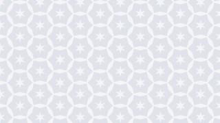White Stars Pattern Graphic