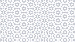 White Seamless Stars Pattern Image