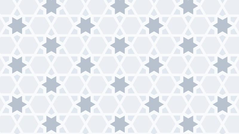 White Star Background Pattern
