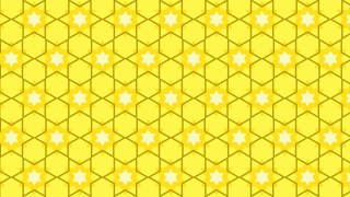 Yellow Seamless Star Pattern Illustration