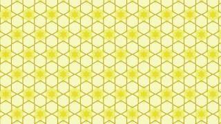 Light Yellow Seamless Stars Pattern Vector Illustration