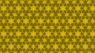 Yellow Star Pattern Background Image