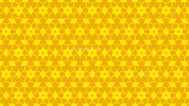 Yellow Stars Pattern Vector
