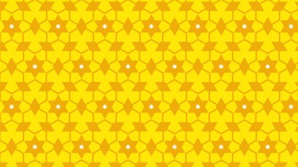 Yellow Stars Pattern Background Vector Art