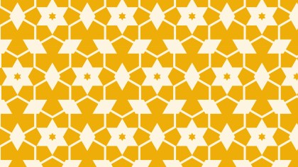 Yellow Stars Background Pattern Graphic