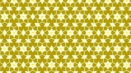 Yellow Star Pattern Background