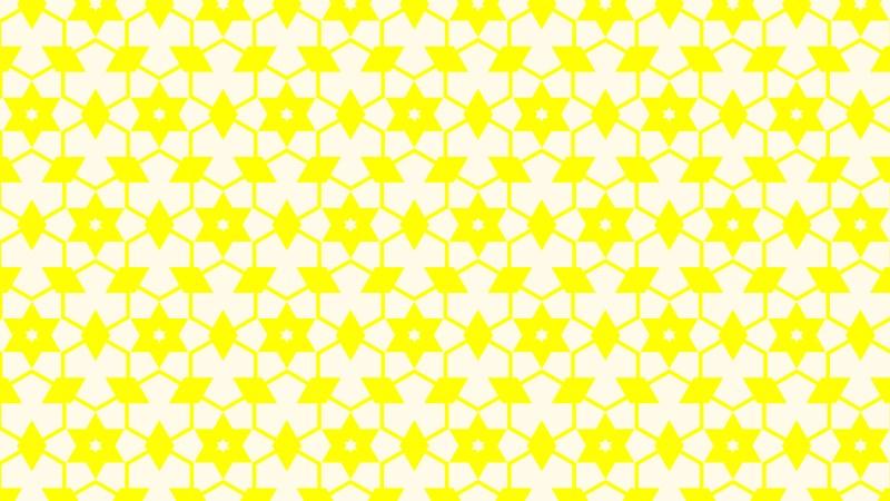 Light Yellow Seamless Stars Pattern