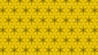 Yellow Star Background Pattern Vector