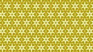 Yellow Seamless Star Pattern Vector Art