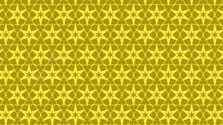 Gold Star Background Pattern