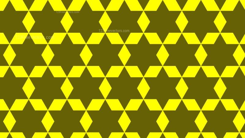 Yellow Stars Pattern