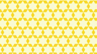 Light Yellow Stars Pattern Background