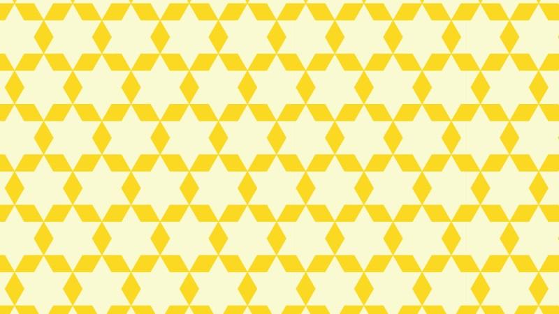 Light Yellow Stars Pattern Background