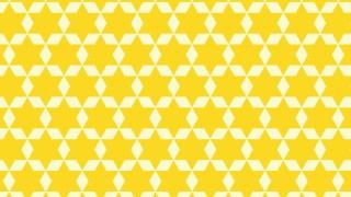 Yellow Stars Background Pattern