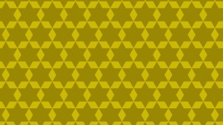 Gold Star Pattern Graphic