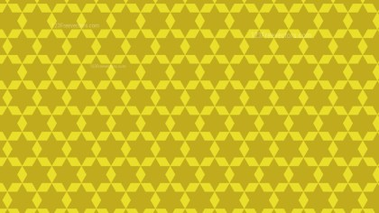 Gold Star Background Pattern Design