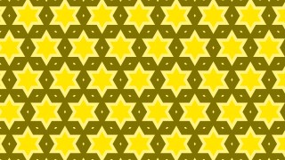Yellow Seamless Star Pattern Image