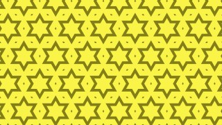 Yellow Seamless Star Background Pattern Vector Image
