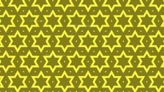 Yellow Stars Pattern Illustrator