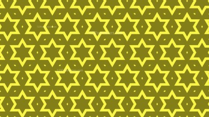Yellow Stars Pattern Illustrator