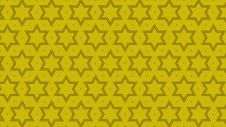 Yellow Stars Pattern Background Vector Illustration
