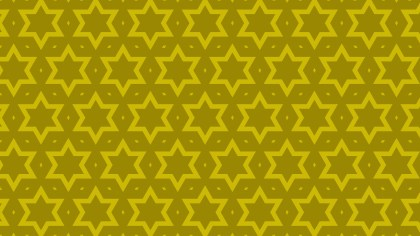 Yellow Stars Background Pattern Vector