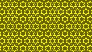 Yellow Seamless Stars Pattern Background Graphic