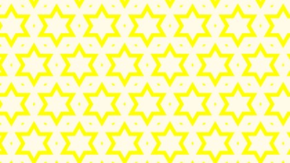 Light Yellow Seamless Stars Background Pattern Illustration