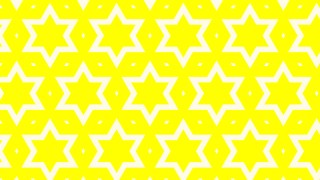Yellow Star Pattern