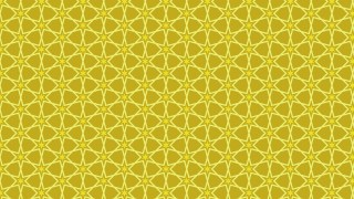 Gold Star Pattern Background