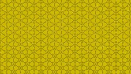 Gold Seamless Star Pattern Vector Illustration