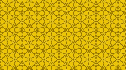 Gold Seamless Star Background Pattern Vector Art