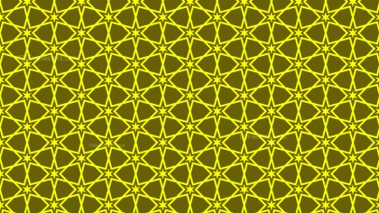 Yellow Stars Pattern Graphic