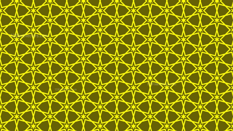 Yellow Stars Pattern Graphic