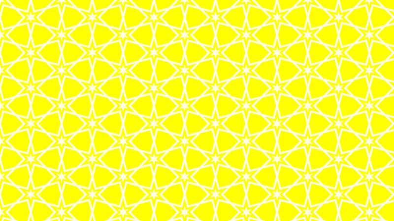 Yellow Stars Background Pattern Design