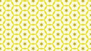 Light Yellow Star Background Pattern