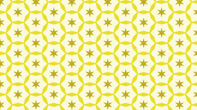 Light Yellow Star Background Pattern