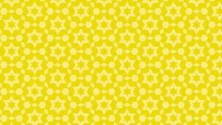 Yellow Star Background Pattern Graphic