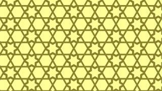 Yellow Seamless Star Background Pattern Image
