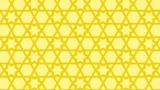Yellow Stars Pattern Vector Graphic