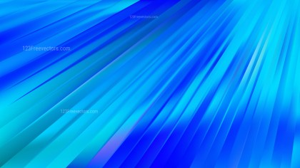 Abstract Blue Diagonal Lines Background Vector Image