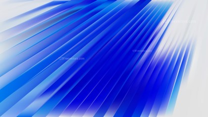 Blue and White Diagonal Lines Background Vector Image