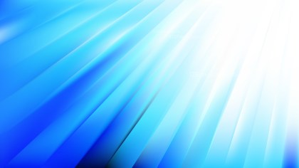 Abstract Blue and White Diagonal Lines Background Vector Illustration