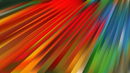 Colorful Diagonal Lines Background Vector Illustration