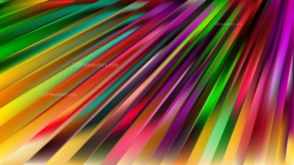 Colorful Diagonal Lines Background Illustration