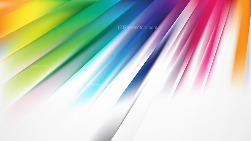 Colorful Diagonal Lines Background