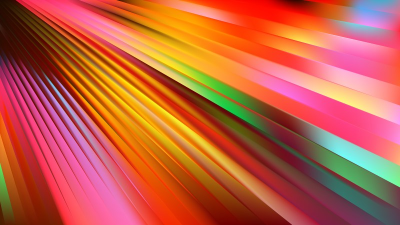 Colorful Diagonal Lines Background Vector Image