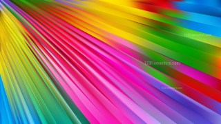 Abstract Colorful Diagonal Lines Background