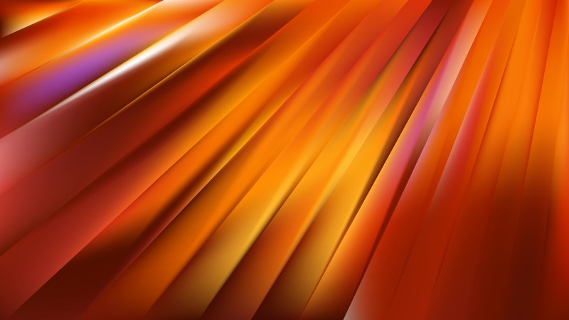 Orange Diagonal Lines Background