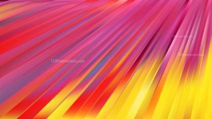 Abstract Pink and Yellow Diagonal Lines Background